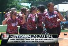 UPDATE:  Softball wins State Title!